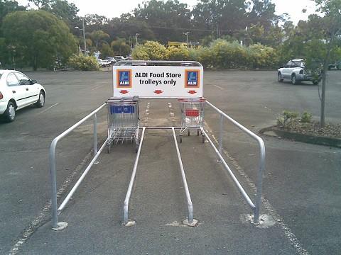 Shopping Trolley Bays