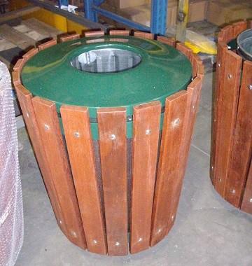 Wooden General Waste Bin