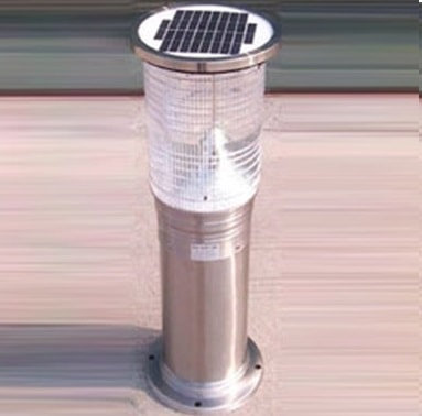 Solar Lighting Bollard | ECO-GL042