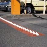 One-Way Spikes System | Manual Lock Down In-Ground | Slow-Go Speed Hump