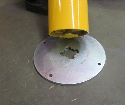 Standard Round Bollard (Twist Lock) | SRA-5TL