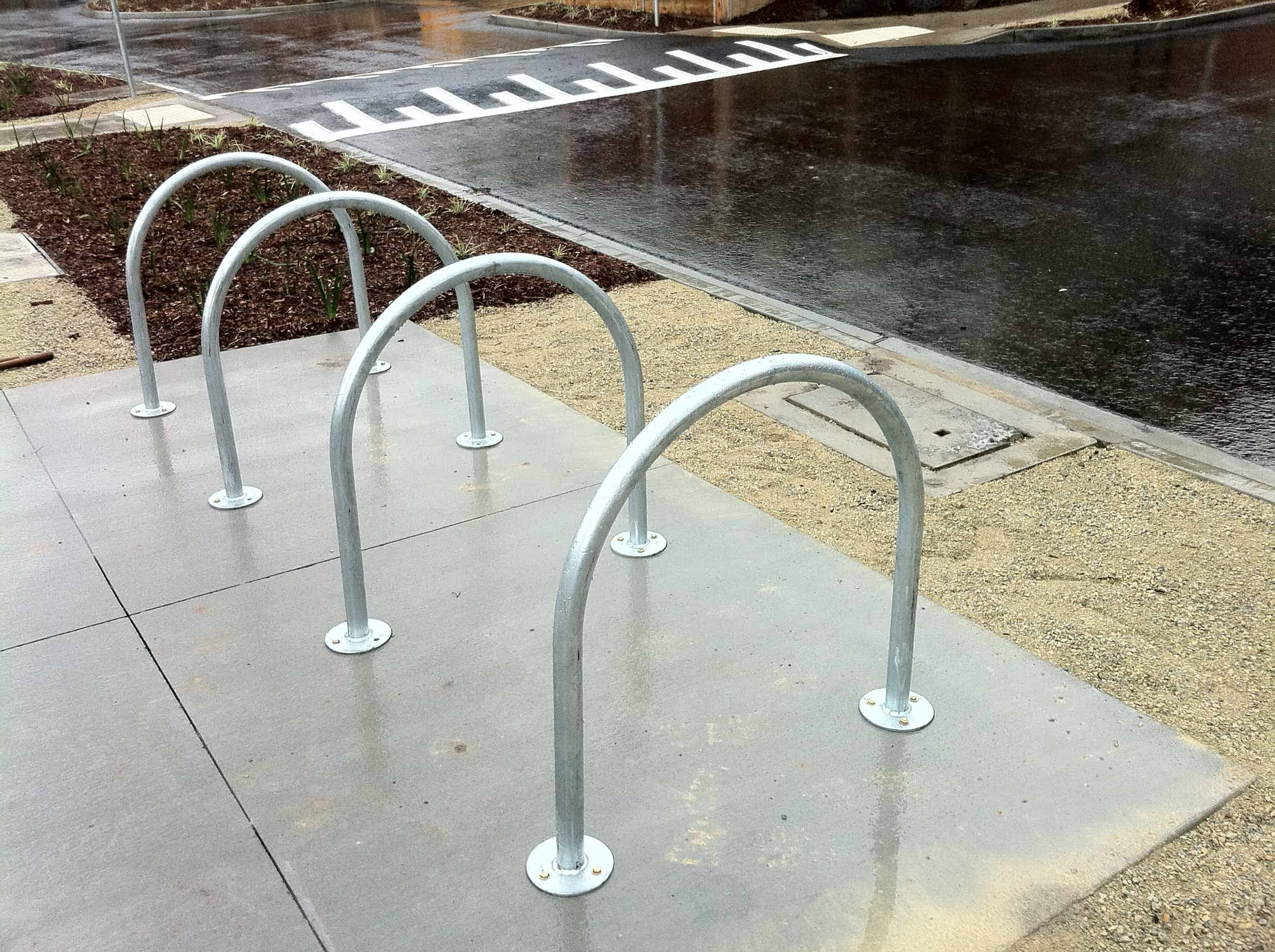 Hoop Bike Rail (galvanised)| BIKERACK-HOOPGB
