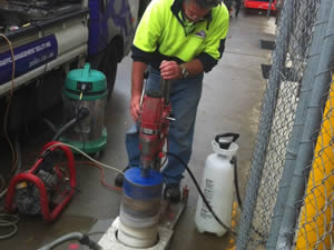 Concreting, Cutting & Coring Services