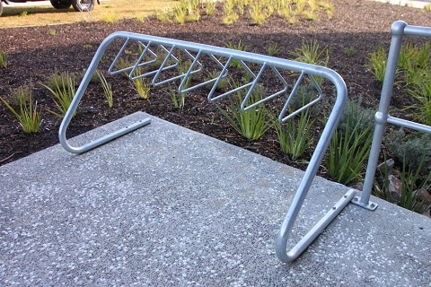 Millenium Bike Rack (galanized steel) | BIKERACK-MIL