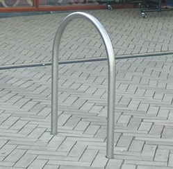 Hoop Bike Rail (galvanised)| BIKERACK-HOOPGI