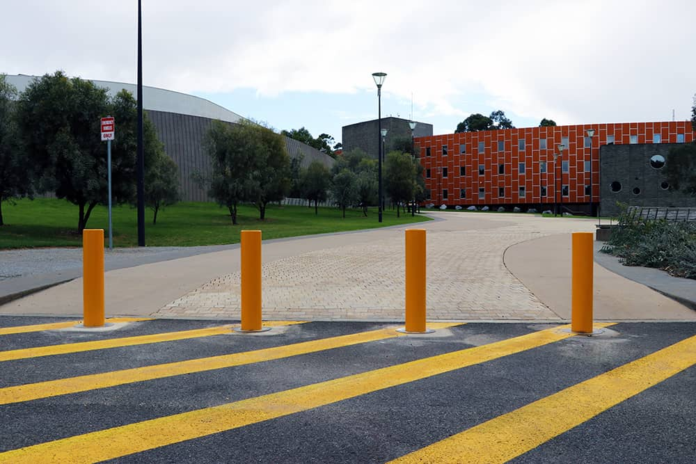RMIT - Campus Bollards - White Knight