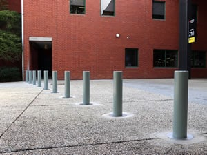 RMIT White Knight Bollard Case Study