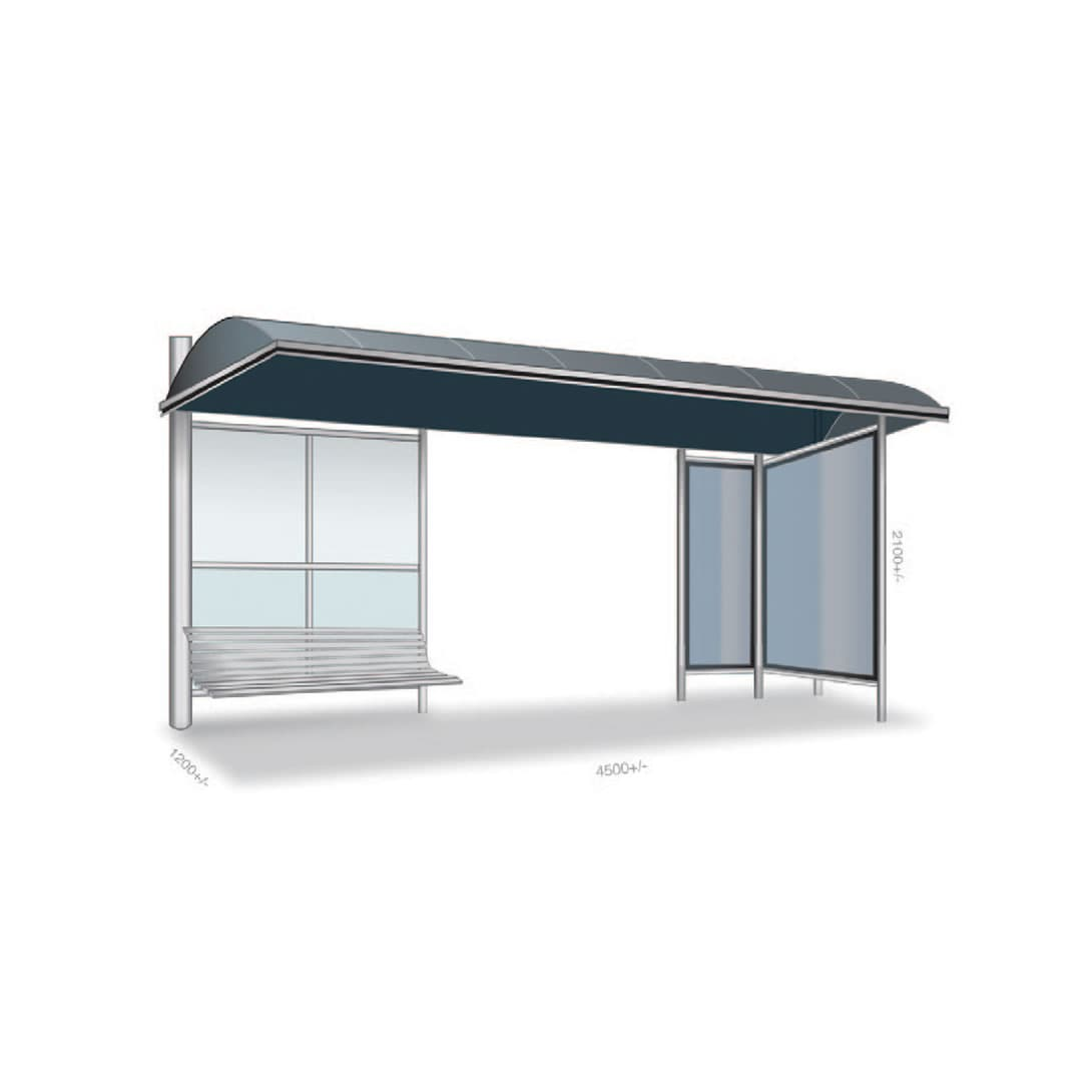 Transit Bus Shelter